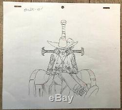 One Piece Eiichiro Oda Original Drawing Animation Studio 2426 CM D