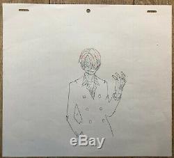 One Piece Eiichiro Oda Original Drawing Animation Studio 2426 CM F