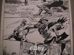 Original Board Gene Colan Black Panther Original Art