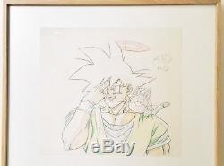 Original Board Genga Dragon Ball Z Son Goku