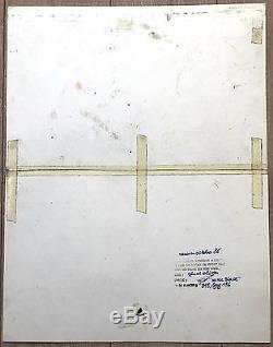 Original Board Ink Genial Olivier By Devos Spirou Ed. Dupuis 3141cm