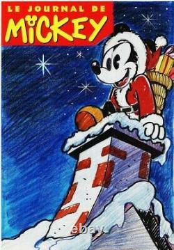 Original Board Mickey Journal Original Drawing Eo Cover Project