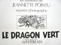 Original Board Of Wasterlain Original Drawing Comic Book Newspaper Spirou