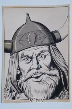 Original Board Pablo Marcos, On Flexible Cardboard Ink