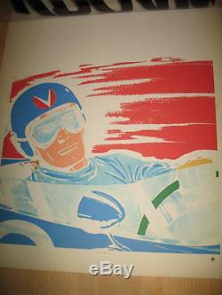Original Board Printing Proof Color Cover Michel Vaillant
