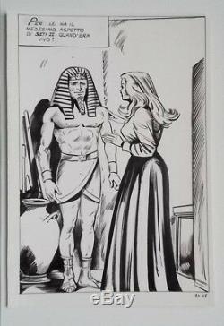 Original Board Tonelli, Ink On Flexible Card, Cimiteria