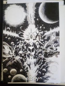 Original Board X-men Jean Yves Mitton
