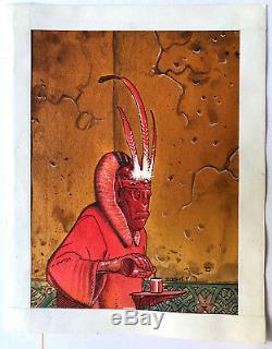 Original Coloring Moebius Tradind Card 71 Bartiniflor