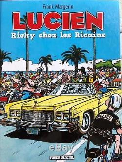 Original Comic Book Margerin Lucien