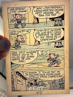 Original Comic Tillieux The Old Stem Page 25 Mini Recit Spirou Dupuis