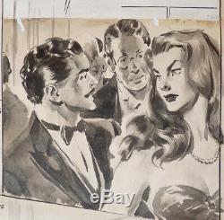 Original Drawing By Aldo Torchio About 1955 Near Molino And Ferrari