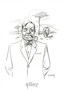 Original Drawing By André Juillard