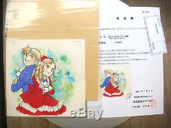 Original Drawing Color Candy Candy For Alexis And Daniel Signed Yumiko Igarashi