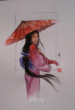 Original Drawing Color Genet