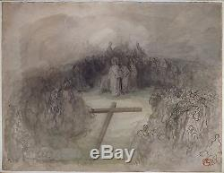 Original Drawing Gustave Doré (1833-1883) Christ Leaving The Praetor Drawing