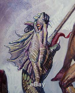 Original Drawing Of Alessandro Biffignandi Erotic Dinosaur Dragon Elvifrance