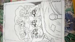 Original Drawing Pencil Esteban Who Works For Disney Plank Oroginal D A