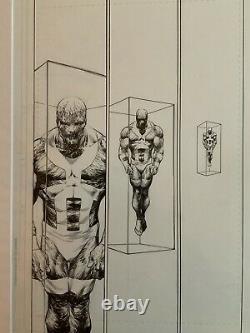 Original Drawing Superman # 684 Page 8