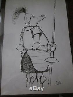 Original Drawing Tetsu