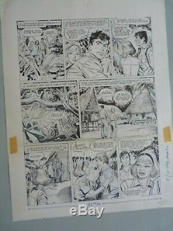 Original Ink Drawing Board Bd Jacques Flash Pif Gadget N 1243 Rgt A June 4