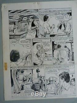 Original Ink Drawing Board Bd Jacques Flash Pif Gadget N Rgt A 3 April 1243