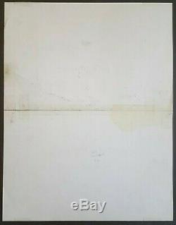 Original Ink Drawing Board Dupa (1945-2000) Chlorophyll Super Caquet 1982