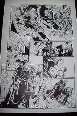 Original Page Humberto Ramos Crimson # 9 Page 19