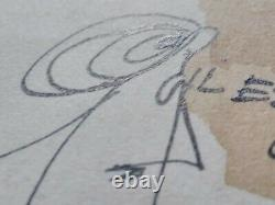 Original Plank Drawing 1960/70