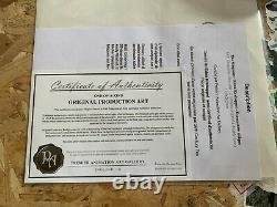 Original Plank The Simpsons / Julius Hibbert / Certificate Of Originality