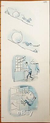 Original Plate Drawing Coq Azor For The Dog Days De France 479