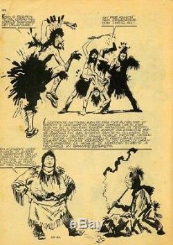 Original Plate Leggende Indiane By Hugo Pratt 1963