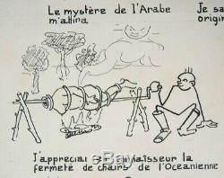 Original Plate Of Paul Jamin Says Jam Tintin Hergé Collaborator 1930