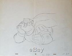 Original Plate Studio Uderzo Asterix In Brittany Cartoon Goscinny