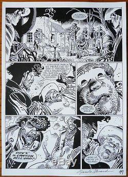Original Plate Tex Giancarlo Alessandrini Western Comics