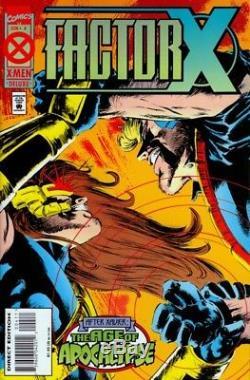Original Sheet Factor X # 4 P.