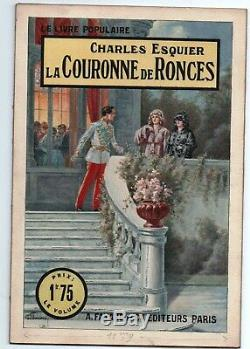 Original Starace Gouache. Crown Of Brambles. From C. Esquier. Fayard 1925
