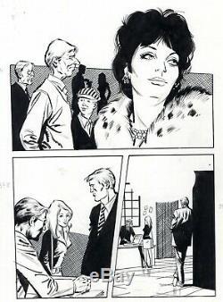 Oss 117 Spy If Evade Board Original Inedite (drawings J. Boix) Superb