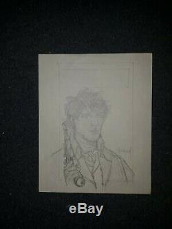 Plate Bd Original Drawing
