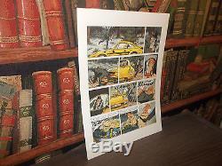 Ric Hochet Portfolio -onze Plates-numbered + Ex-libris-bd