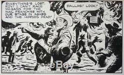 Roy Rogers Original Comic Book From Mckimson Dated 1950 Daily Strip Near Alex Toth