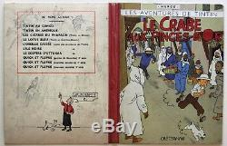 Sale Hergé Lot 225 Project Crab Cover With Claws Gold 1942