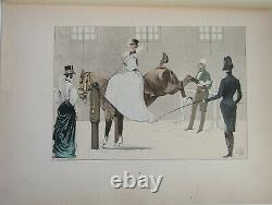 The Chic Horse The Vallet 1891 Pellier Riding 1836 Plate 33 X 25