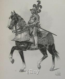The Chic Horse The Vallet 1891 Philip IV Flemish Armor Plate 33 X 25