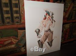 The Romantic Scorpion-portfolio -15 Unpublished Watercolors-marini-desberd-bd