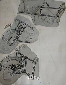 Two Planks Original Drawings Rebour