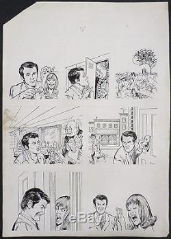 Vampire Original Comic Book Of John Severin From 1983 Mad Magazine Cracked