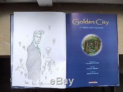 Very Rare Dedication Of Nicolas Malfin In The Series Golden City