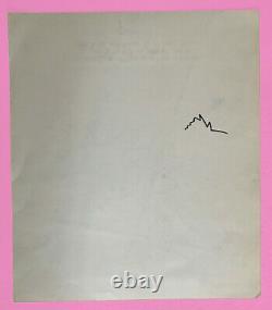 Walter Minus Dessin Original 29 X 25 Planch Original Drawing Pin-up Pop Art