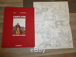 White Dumont Jonathan Cartland The Devil's Roots Tt 300ex N & S + Original Drawing
