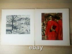 Yves Brayer / From The Colombier Collection 20 Boards - Original Drawing Dedicated Rare